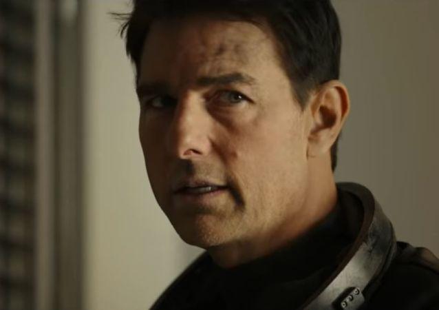Tom Cruise en la película Top Gun 2