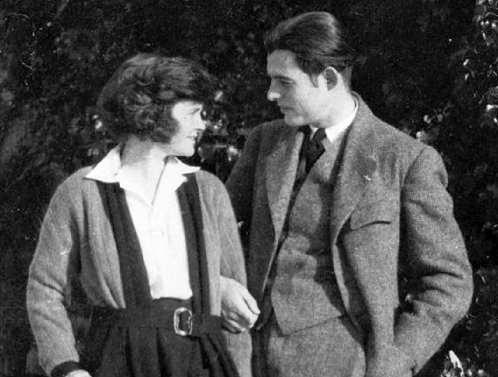 Ernest Hemingway y Hadley Richardson en 1922