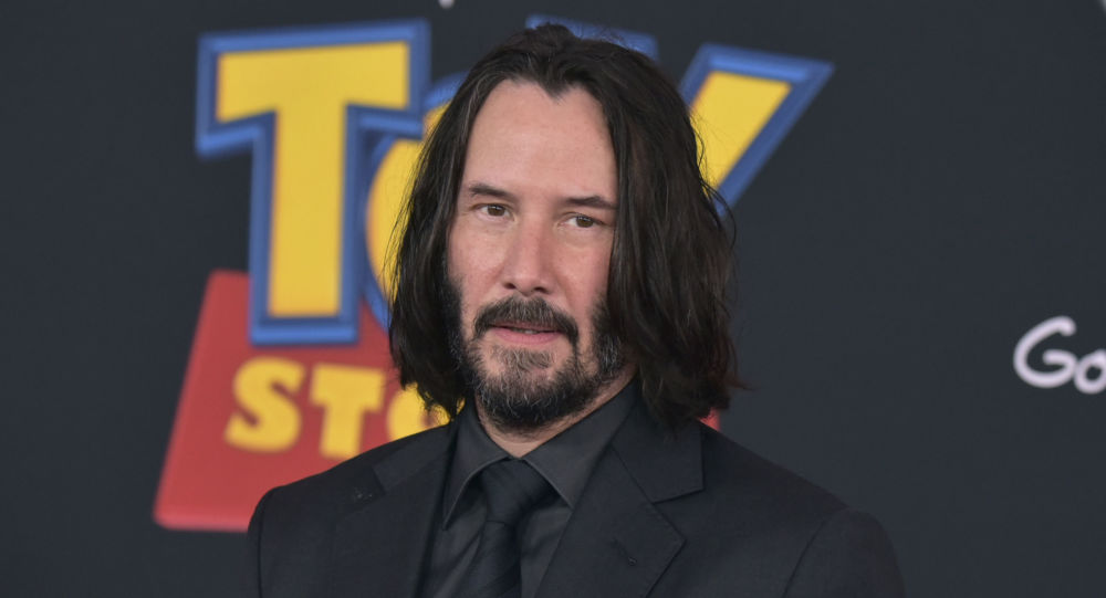 Keanu Reeves, actor canadiense