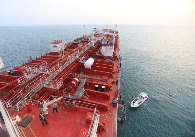El petrolero británico Stena Impero