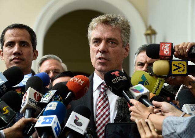 Daniel Kriener, embajador de Alemania en Venezuela