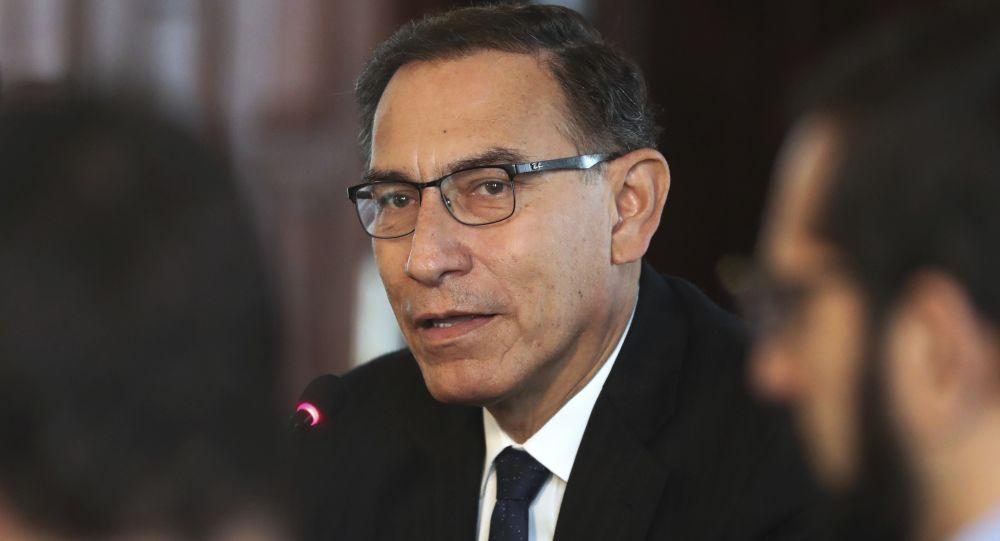 Martín Vizcarra, el presidente de Perú (archivo)