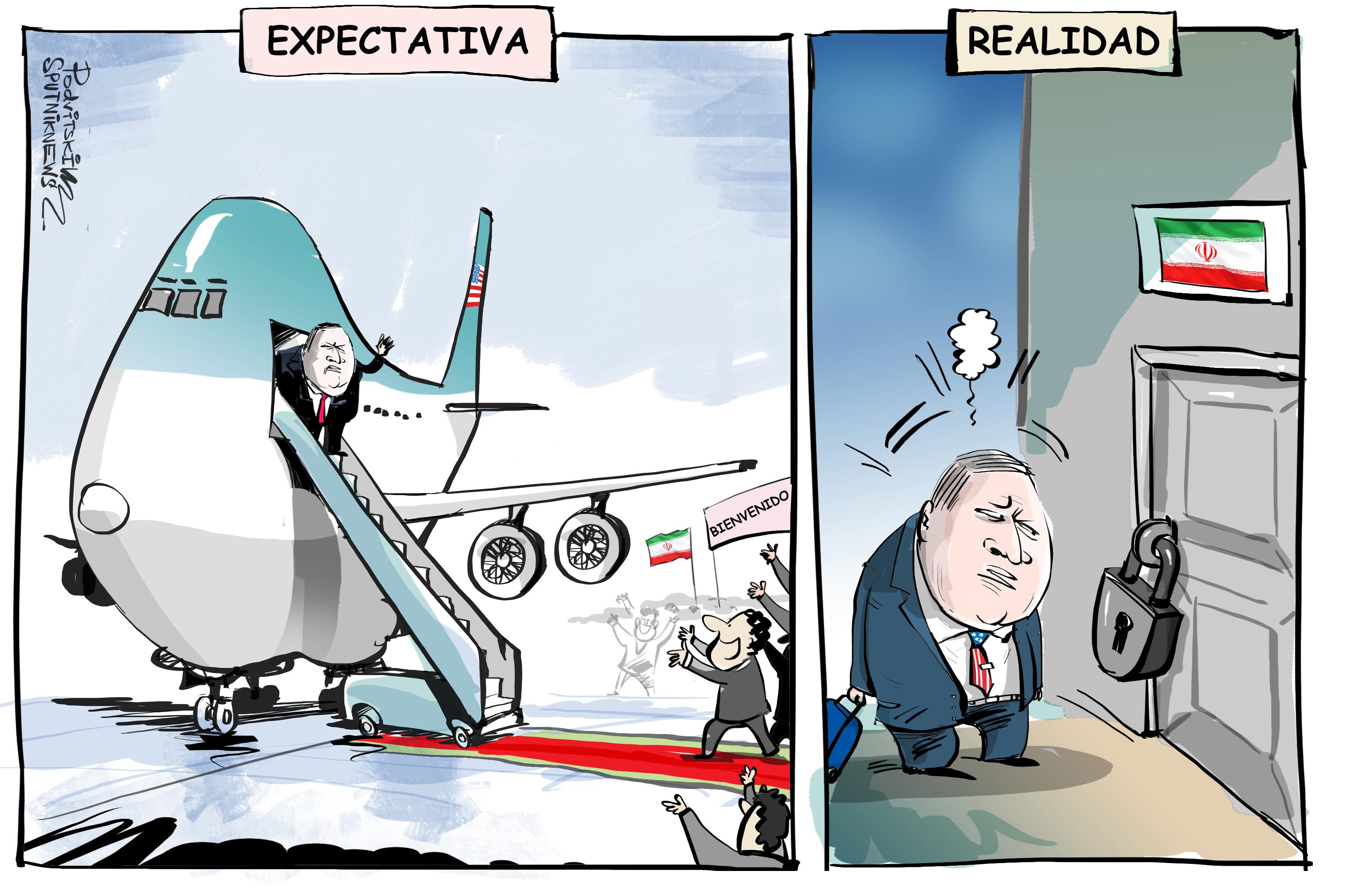 Irán cierra la puerta en las narices de Mike Pompeo