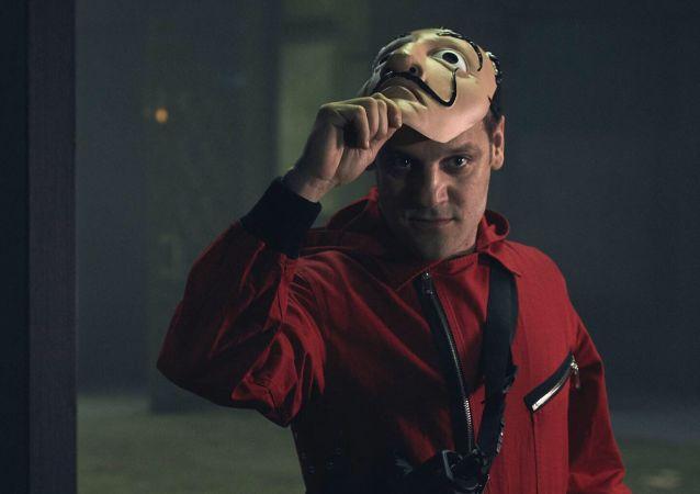 Rodrigo de la Serna en la serie 'La Casa de Papel'