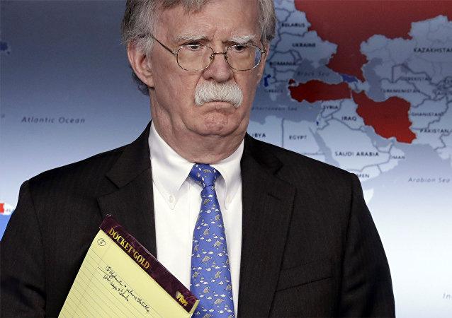 John Bolton, asesor de Seguridad Nacional de EEUU (archivo)