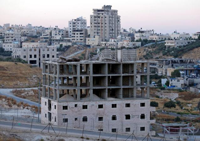 Las viviendas palestinas en Cisjordania