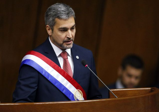 Mario Abdo Benítez, presidente de Paraguay (archivo)