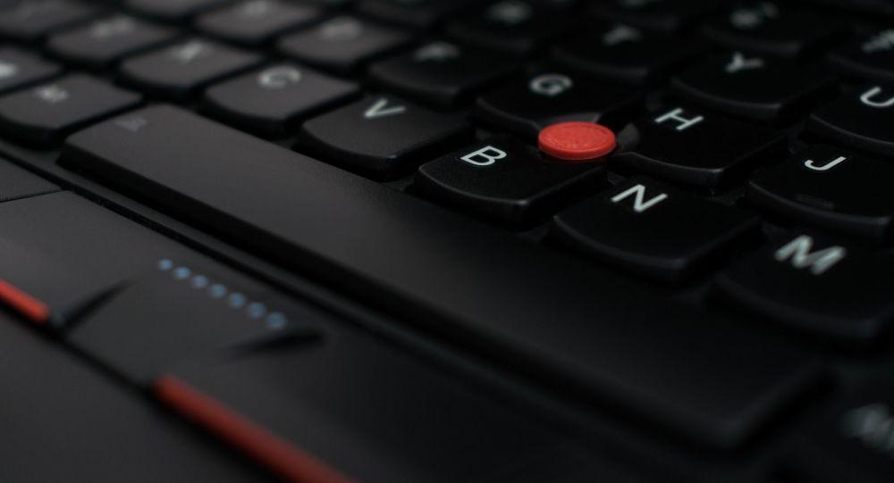 Una computadora portátil