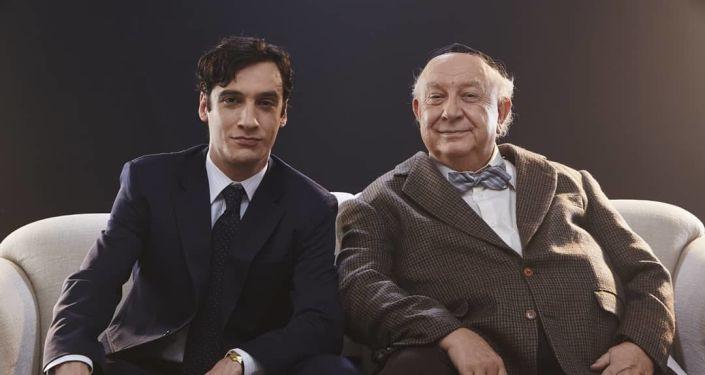 Ricardo Gelli y Sérgio Mamberti, actores brasileños
