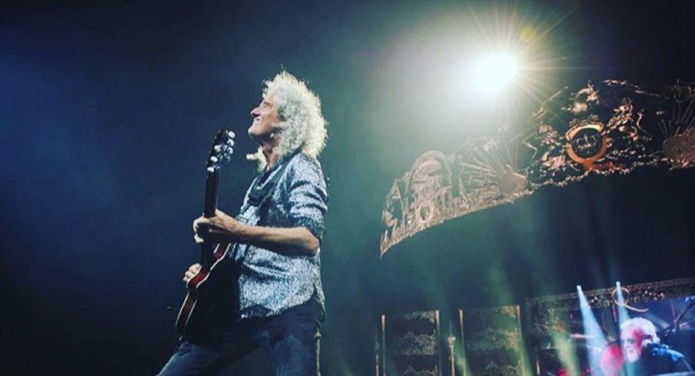 Brian May, miembro de la banda musical Queen