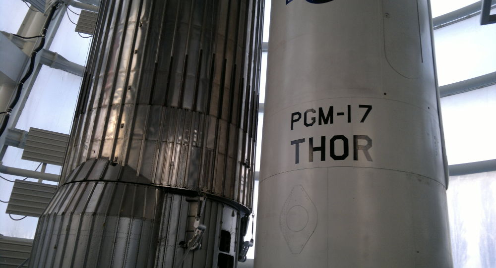 El misil estadounidense, PGM-17 Thor
