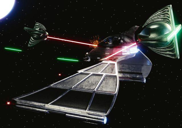 Combate espacial (imágen referencial)