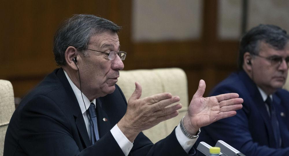 El canciller de Uruguay, Rodolfo Nin Novoa