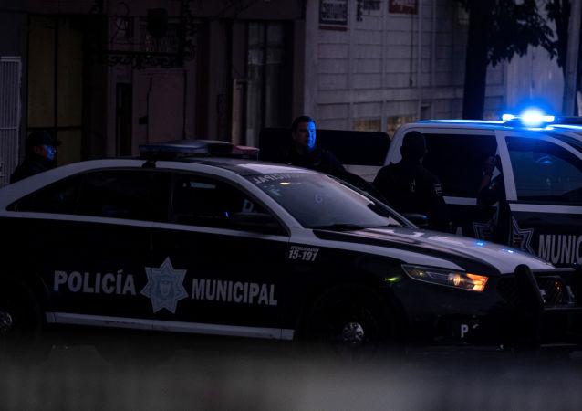 La Policía municipal mexicana
