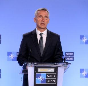 El Secretario General de la OTAN en Bruselas