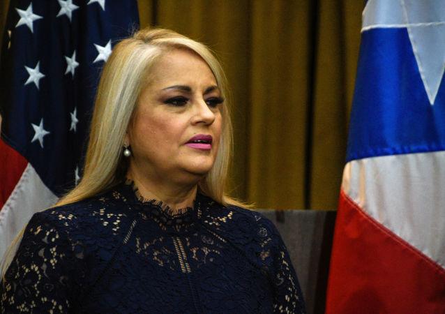 Wanda Vázquez, gobernadora de Puerto Rico