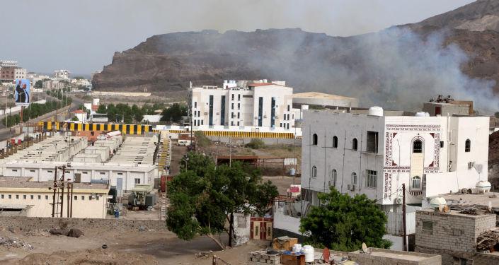 Enfrentamientos en Adén