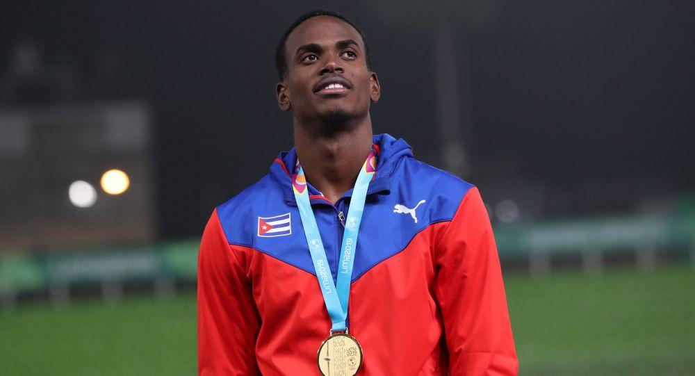 Luis Zayas, atleta cubano