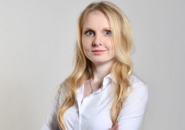 La camionera Anna Vaculikova