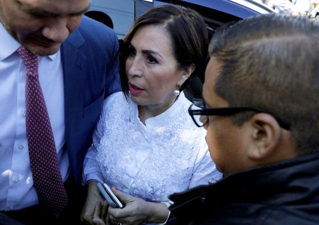 Rosario Robles, exsecretaria de Desarrollo Social de México