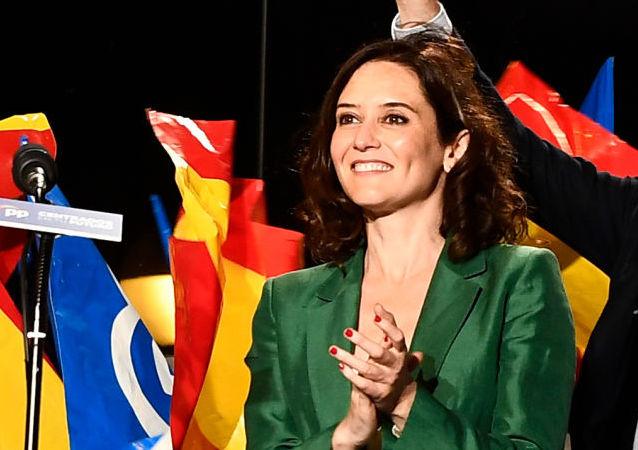 Isabel Díaz Ayuso, la nueva presidenta de la Comunidad de Madrid