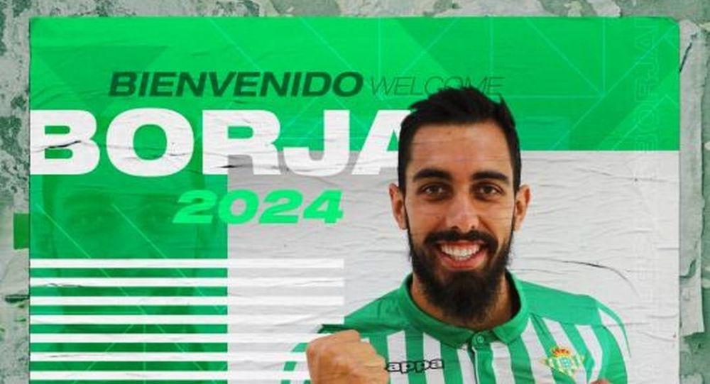 Borja Iglesias, nuevo futbolista del Real Betis