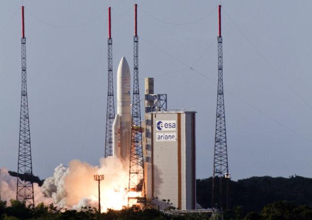 El lanzamiento del cohete portador Ariane 4 (archivo)