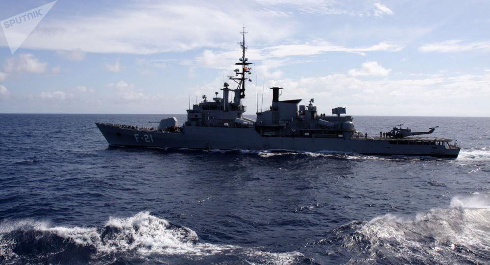 Fragata de la Armada Venezolana