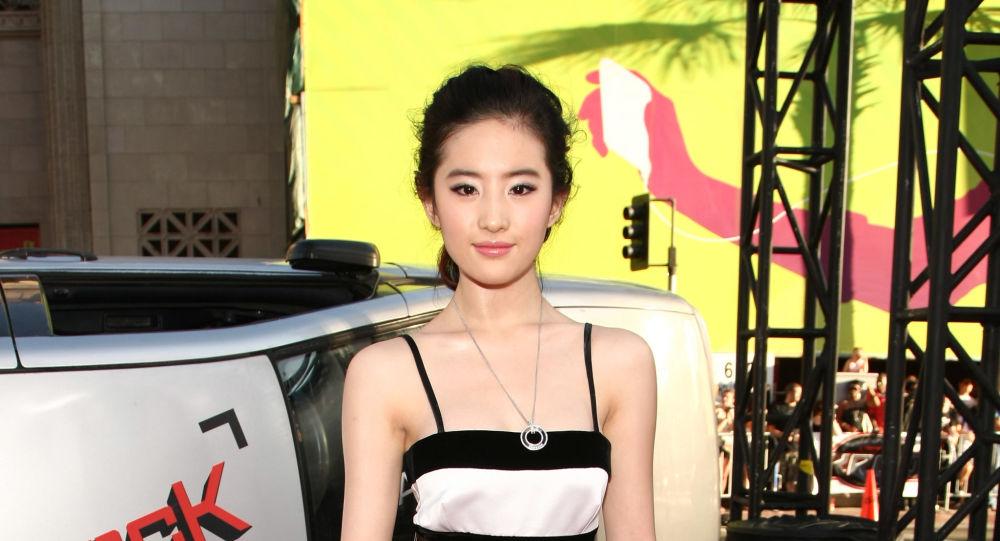 La actriz china y estadounidense Yifei Liu