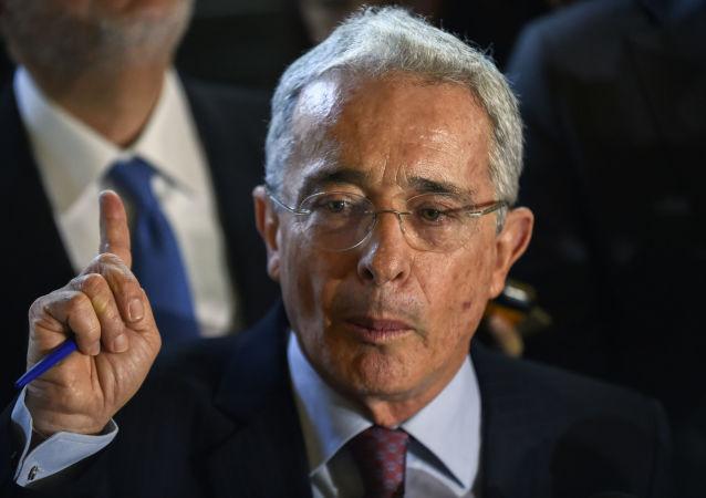 Álvaro Uribe, expresidente de Colombia (2002-2010)