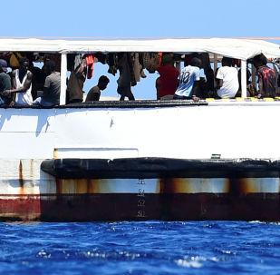 Barco humanitario Open Arms