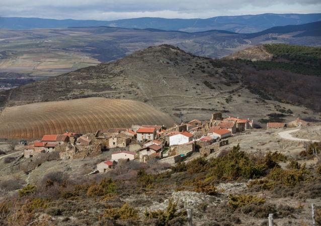 Un pueblo abandonado en España