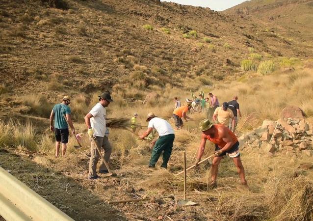 Así es la lucha contra los incendios forestales en Gran Canaria