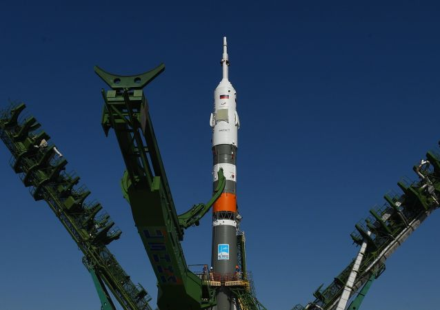 Un cohete Soyuz (archivo)