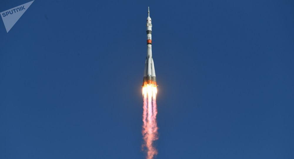 Soyuz MS-14 con Fedor a bordo