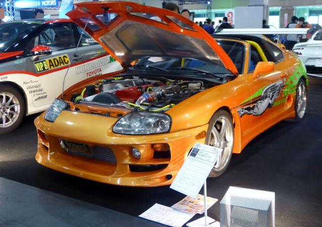 Una reproducción del Toyota Supra Mk IV de Fast&Furious