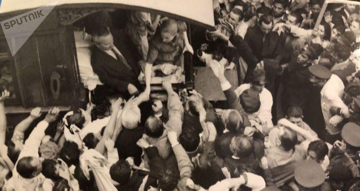Hace 68 años, casi un millón de personas clamaron por la fórmula Perón-Perón en Argentina