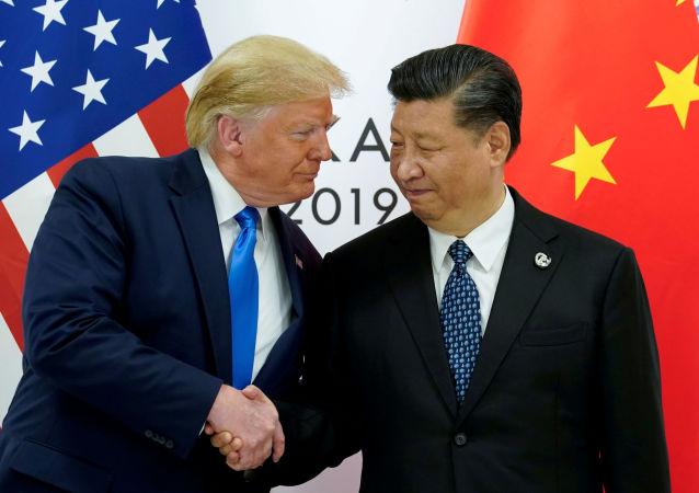 Donald Trump, presidente de EEUU, y Xi Jinping, presidente de China (archivo)