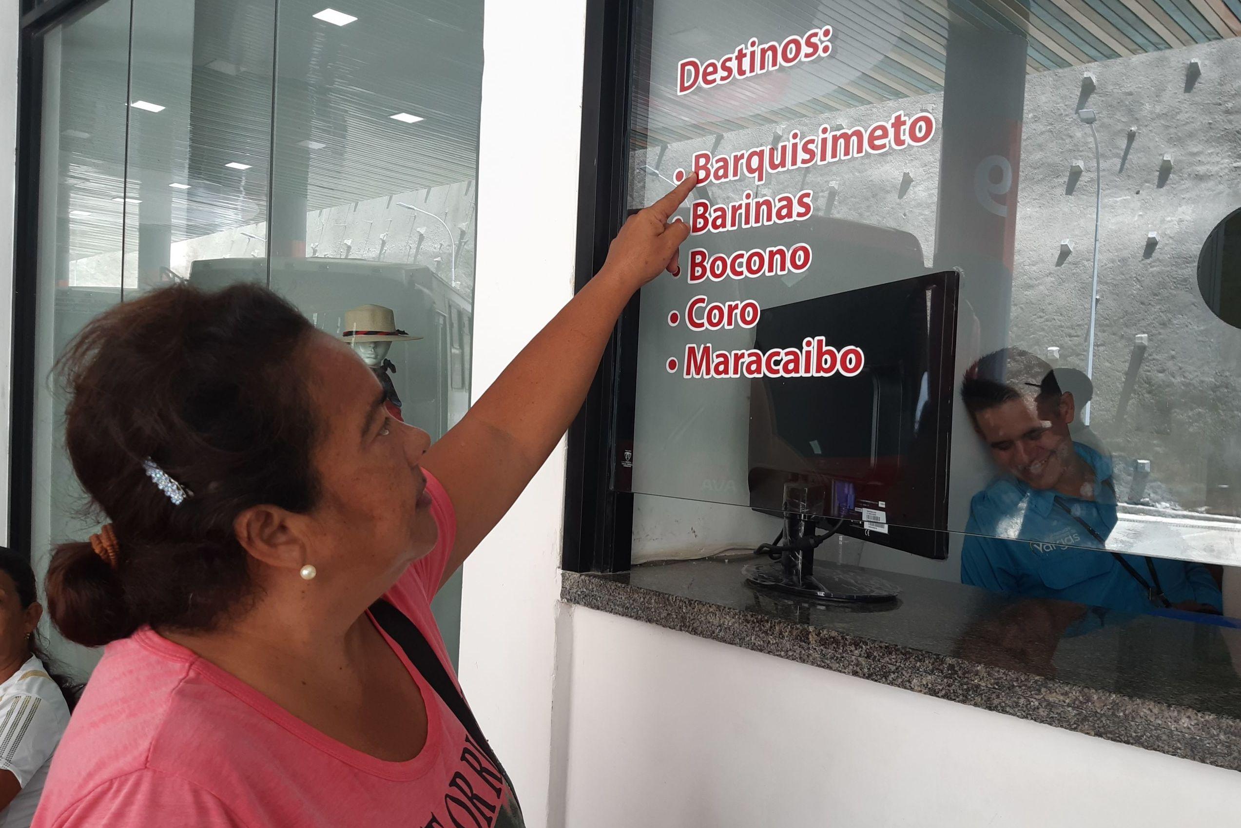 Melany González expresó que ahora podrá visitar a su familia en el oeste de Venezuela desde La Guaira