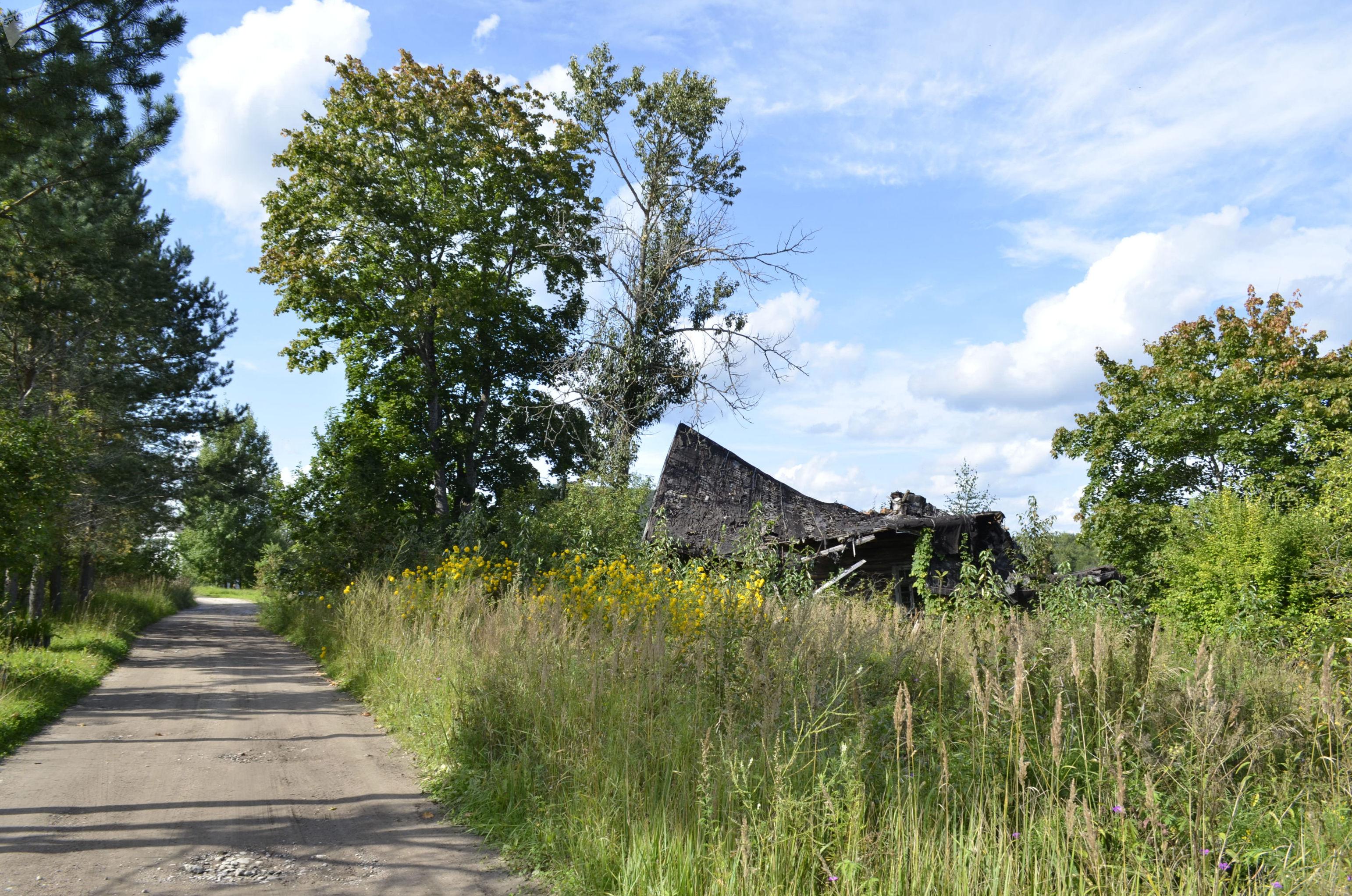 La casa donde se encontraba la sede de los represores pronazis letones