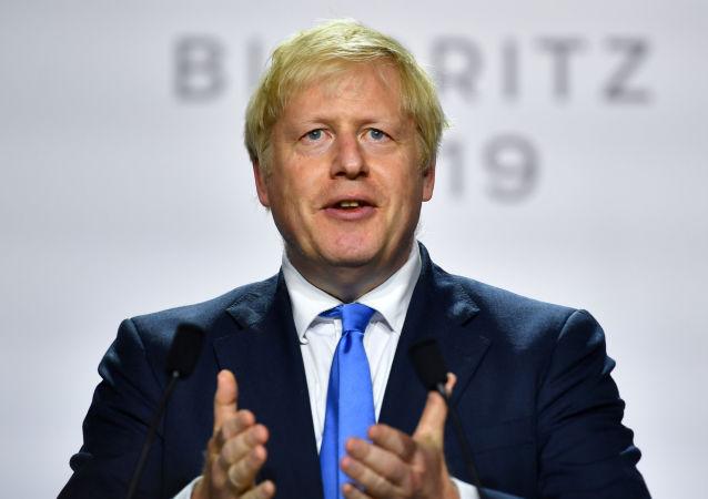 El primer ministro del Reino Unido, Boris Johnson