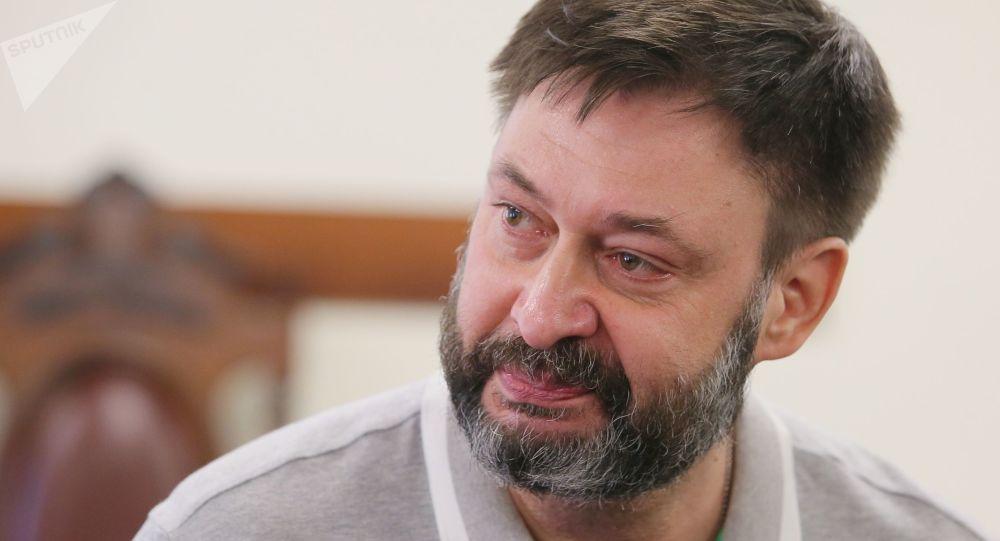 Kiril Vishinski, exjefe del portal RIA Novosti Ukraina