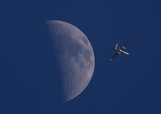 Un dron de Israel (Archivo)
