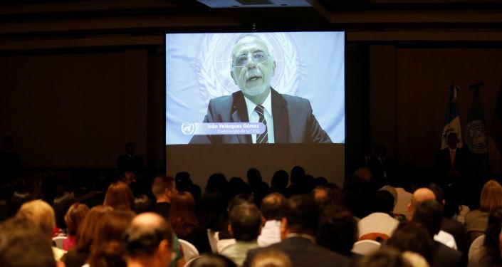 Iván Velásquez, comisionado de la CICIG