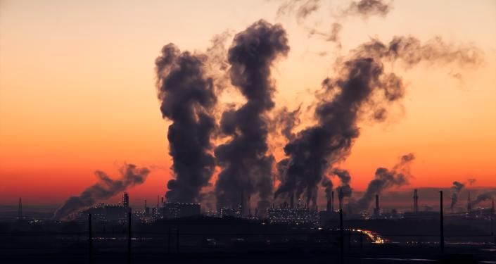 Aire contaminado (imagen referencial)