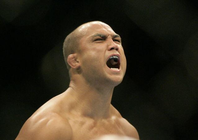 Jay Dee B.J. Penn, luchador estadounidense de artes marciales mixtas