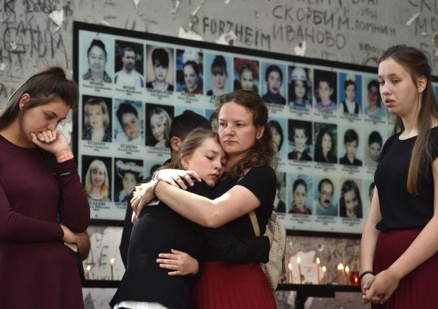 Las víctimas del ataque terrorista de Beslán