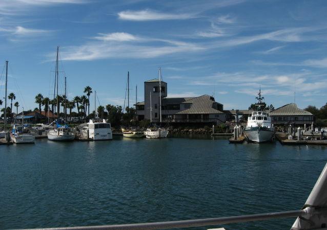 Unos barcos en el contado de Ventura, California, EEUU (imagen referencial)