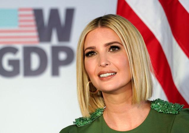 Ivanka Trump, hija del presidente de EEUU, Donald Trump