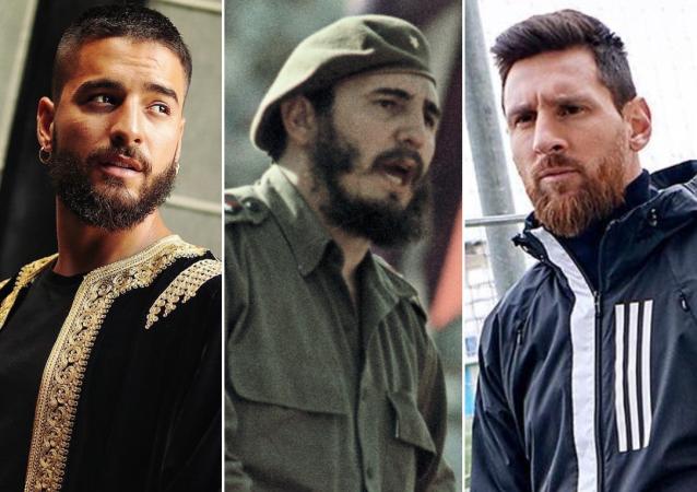 Maluma, Fidel Castro, Leo Messi y Jason Momoa
